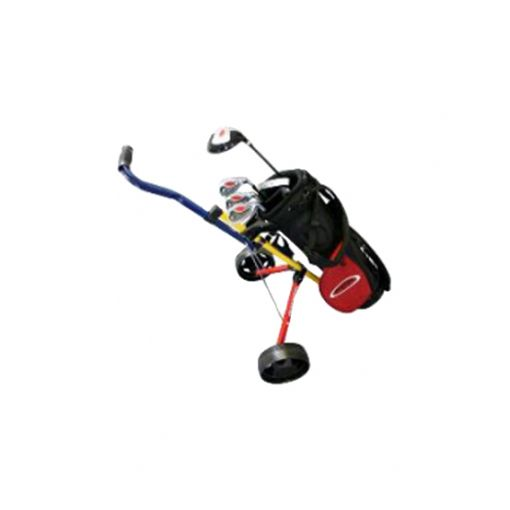 Boys Package Set - Driver, Hybrid, 3 Irons, Putter Carry Bag (no Buggy)