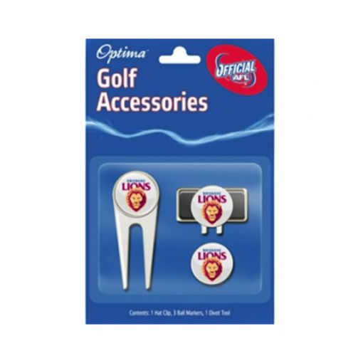 Brisbane Lions AFL accessory pack