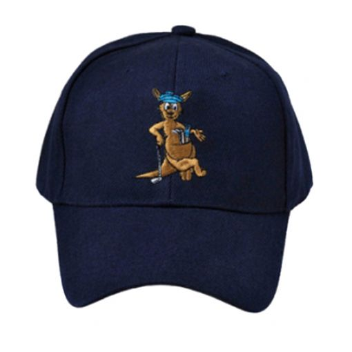kids caps - Baseball Cap Blue (with free ball marker)