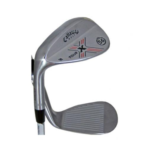 LH Callaway Golf Clubs X-Tour Chrome Sand Wedge 56*