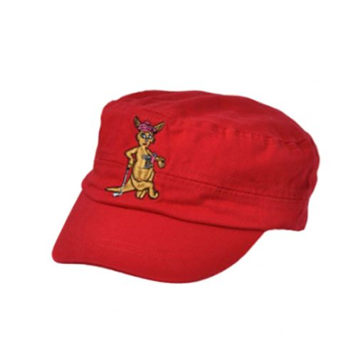Military Cap Red (with free ball marker)