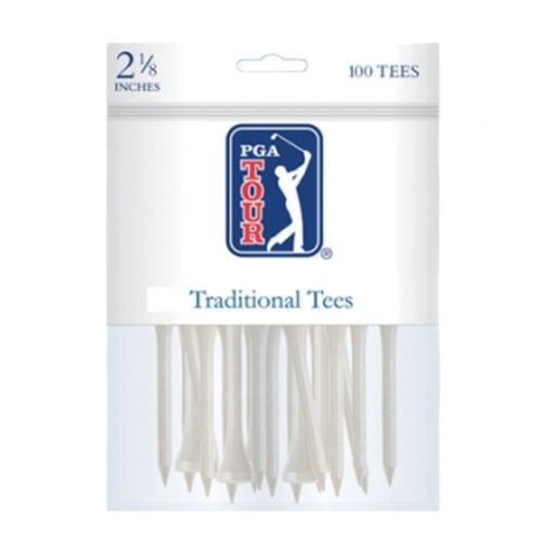 PGA Traditional tees 2 1/8 Inch 100 pack