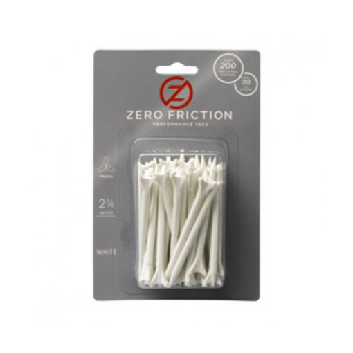 Zero friction 2 3/4 (16 pack) White