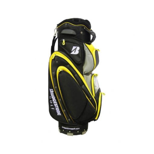 Bridgestone Gold/Black Cart Bag