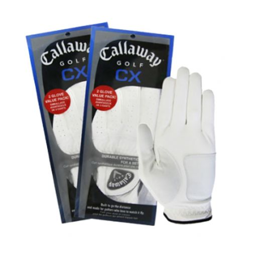 2 Pack Callaway Golf CX (Medium) Left Hand