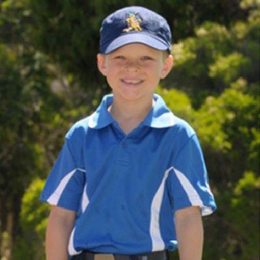 Polo Kids Shirt Blue Sizes 10 - 14
