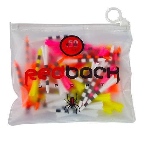 "50X Nylon Dart Tees In Resealable Bag (2 3/4"")"