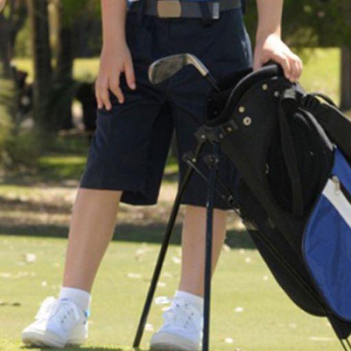 Boys Navy golf shorts Sizes 14 - 16