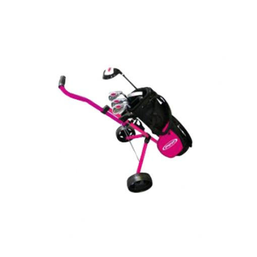 Girls Package Set - Driver, Hybrid, 3 Irons, Putter Carry Bag (no Buggy)