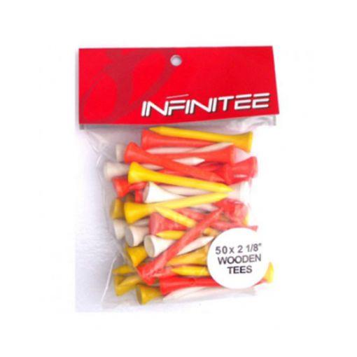 InfiniTEE 2 1/8 Mixed (50 pack)