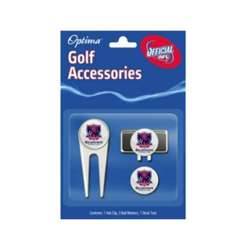 Melbourne Demons AFL accessory pack