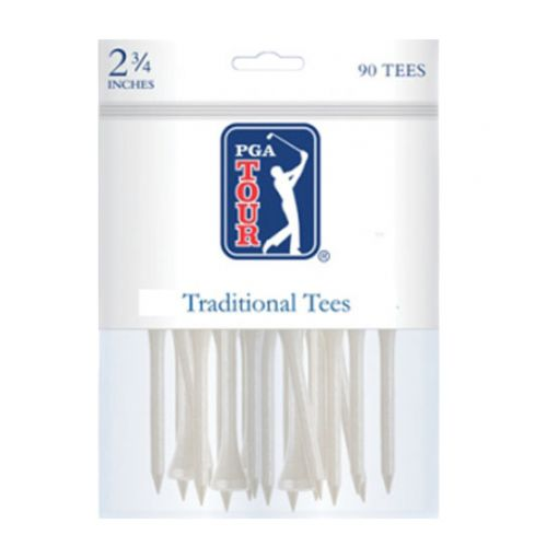 PGA Traditional tees 2 3/4 Inch white 90 pack
