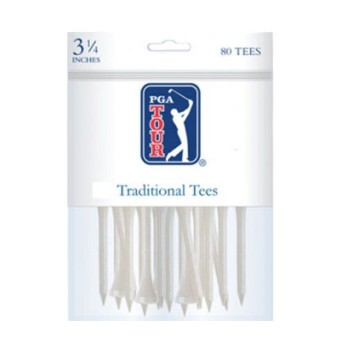 PGA Traditional tees 3 1/4 Inch 80 pack