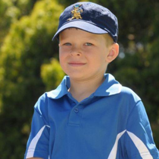 Polo Kids Shirt Blue Size 4-8