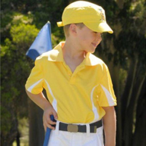 Polo Kids Shirt Yellow Sizes 10 - 14